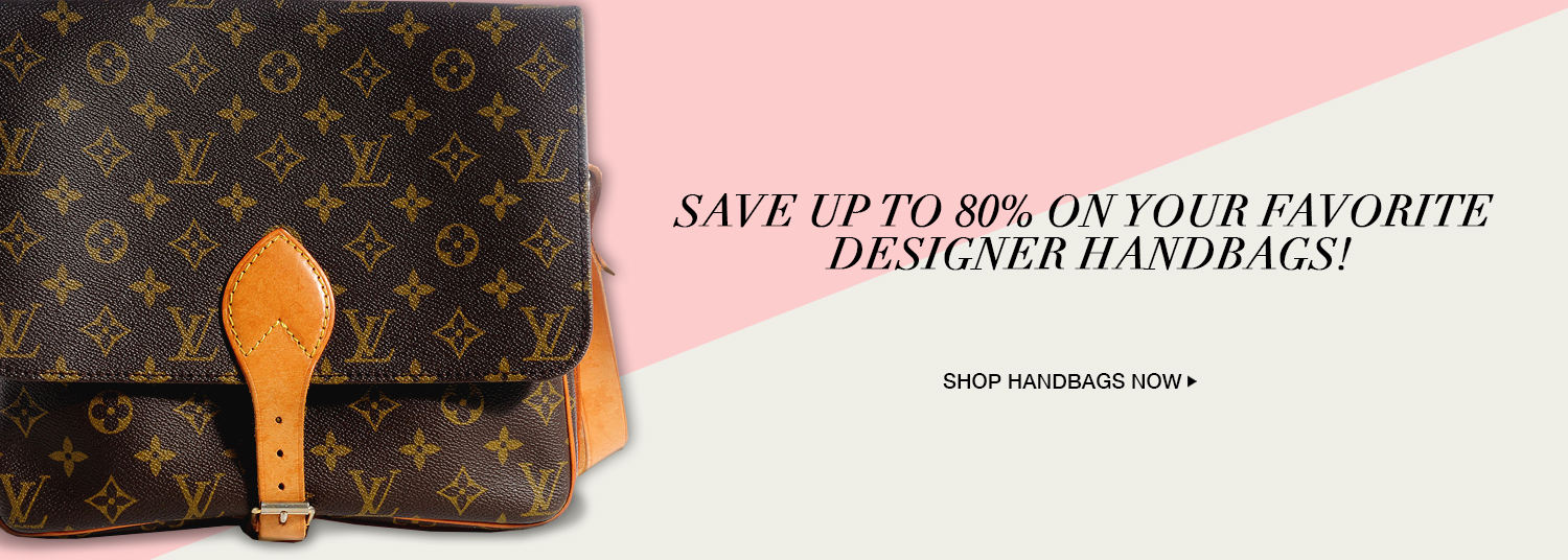 Save up tp 80% on your favorite designer bags!