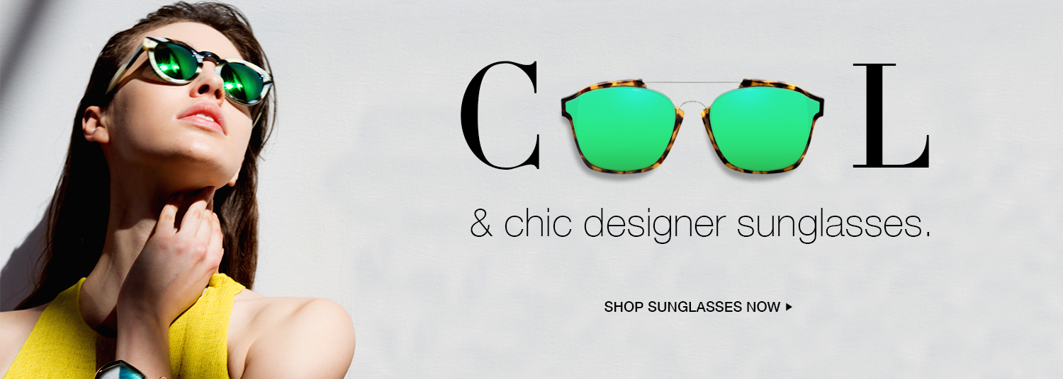 Cool designer sunglasses